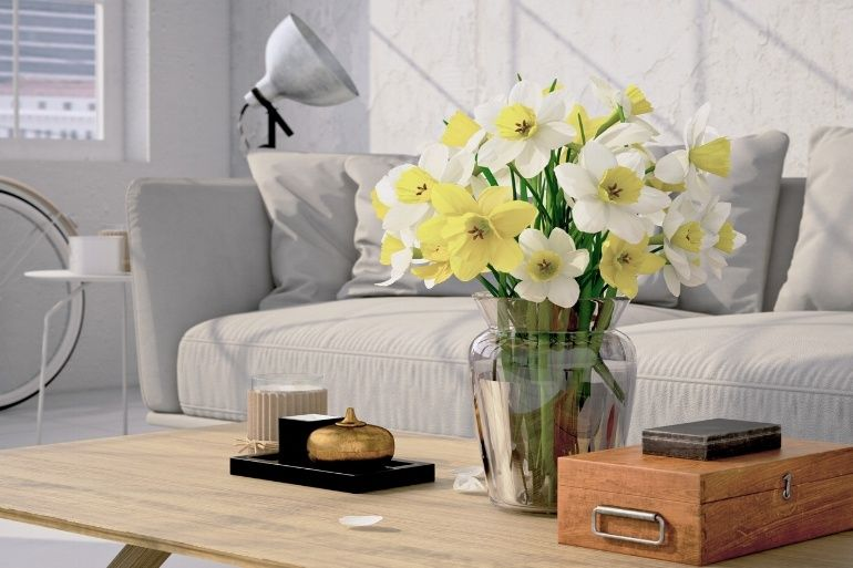 bloemen ter decoratie van je huiskamer